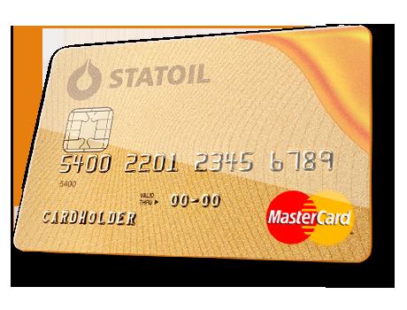 statoil mastercard kreditkort