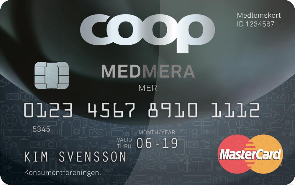 Ansök om Coop Medmera mer kreditkort betalkort recension