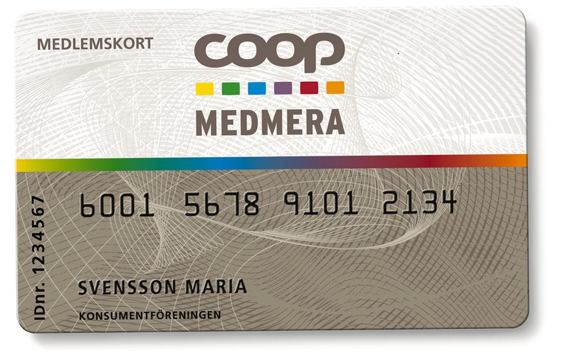 coop medlem kort
