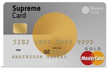 Supreme Card • Kreditkort.me