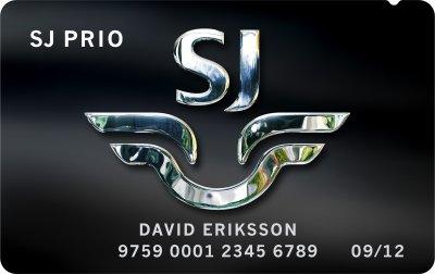 SJ Prio MasterCard