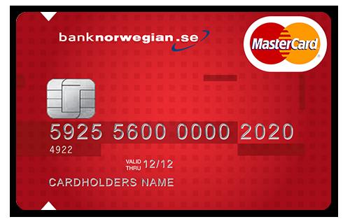 Bank Norwegian MasterCard kreditkort