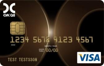 OKQ8 Kort Visa
